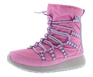 bb4af4d08c8b Amazon.com  Nike Roshe Run Hi Gradeschool Girl s Sneakerboot  Shoes