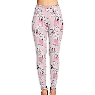 ANTOUZHE Pantalones de Yoga, Pantalones de Mujer Doodle ...