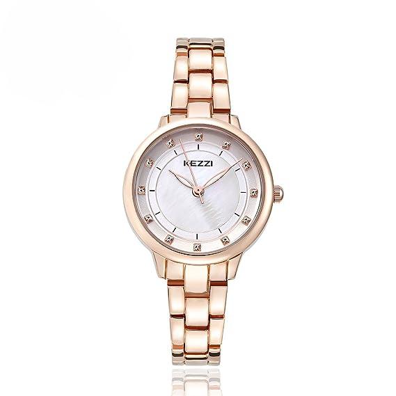 baosaili relojes mujer Oro Tono Pulsera Diamond