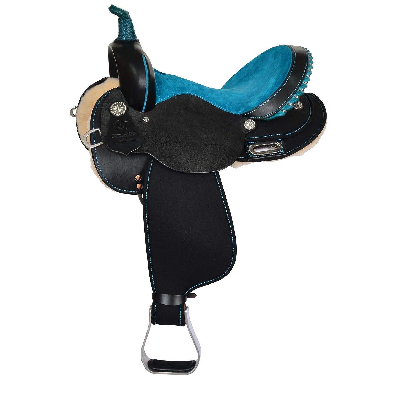 Amazon com : High Horse Mercury Cordura Reg Barrel Saddle : Sports
