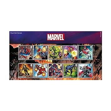 Marvel Sellos Paquete de Presentación 2019: Amazon.es ...