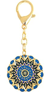 Feng Shui 15 Hums Protection Wheel Keychain Amulet