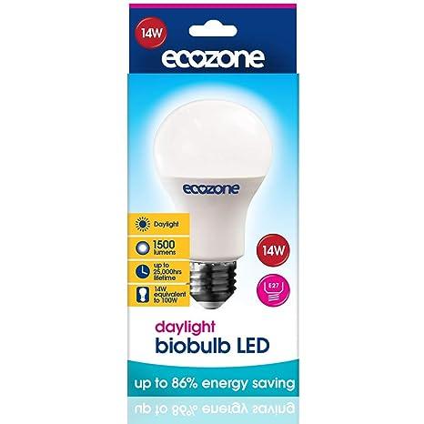 "Ecozone""Biobulb luz ahorro de energía bombilla LED, ..."