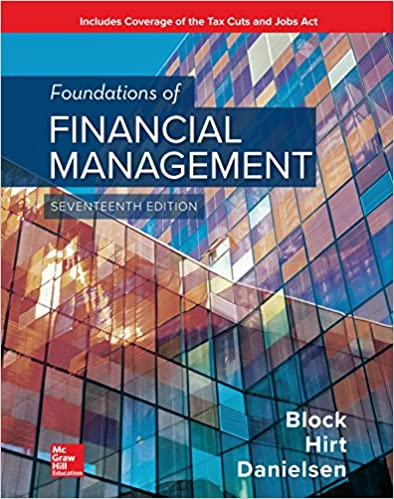Foundations Of Financial Management EBook