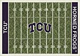 NCAA Home Field Rug - Texas Christian Horned Frogs, 3'10'' x 5'4''