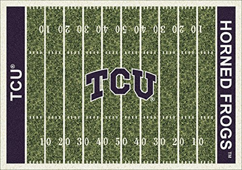 NCAA Home Field Rug - Texas Christian Horned Frogs, 3'10'' x 5'4'' by Millilken
