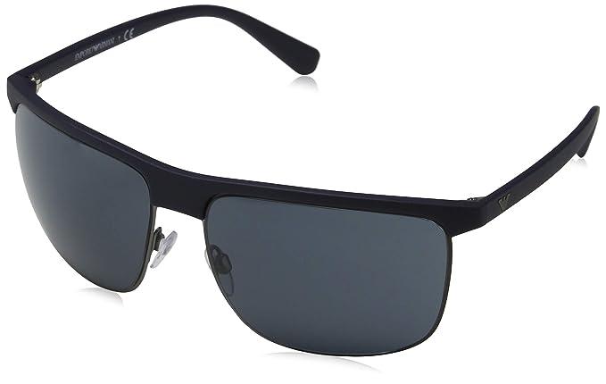 Emporio Armani 0ea4108 563887 60 Gafas de sol, Matte Blue ...