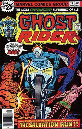 Ghost Rider (Vol. 1) #18 FN ; Marvel comic book ()