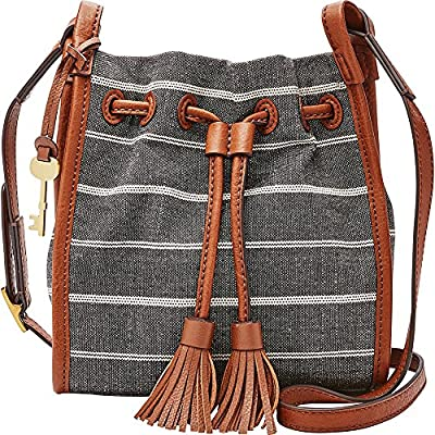 Fossil Claire Small Drawstring-Chambray