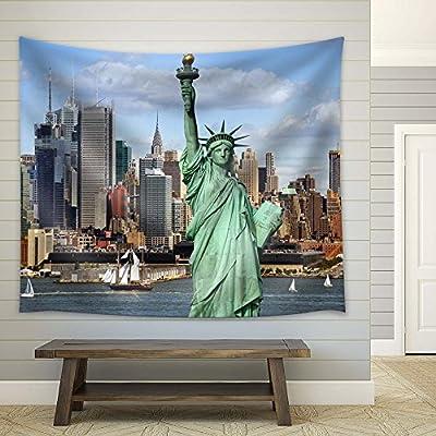 Premium Creation, Majestic Creative Design, Statue of Liberty in New York Harbor