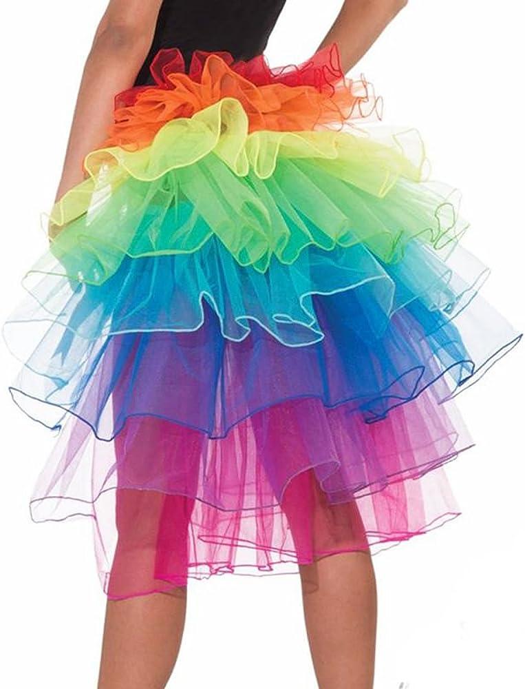 Faldas de Tulle Falda Corta de Cancan de Las Mujeres Retro Falda ...