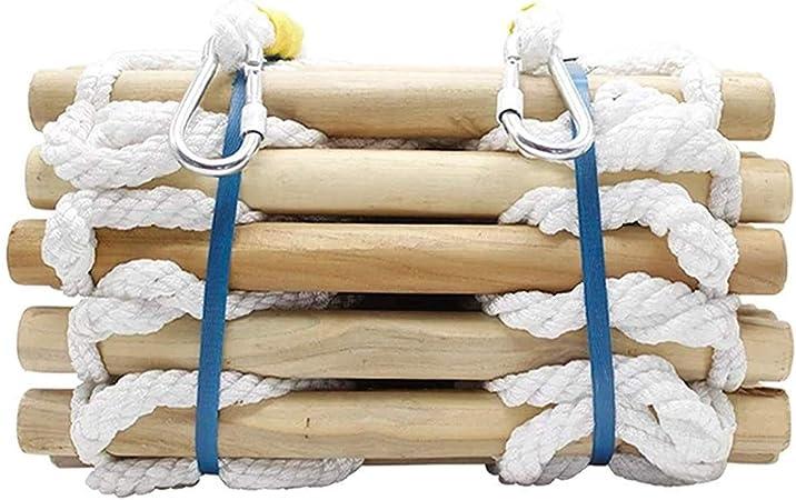 Escalera de cuerda de rescate de 49.2 pies, escalera de escape de incendios, trabajo de emergencia, respuesta de seguridad, rescate de incendios, escalada, escape, antena, trabajo, rescate: Amazon.es: Hogar