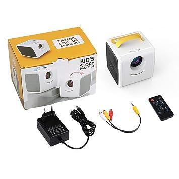 WHLDCD Proyector Mini proyector 700 lúmenes Educación ...