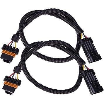 amazon com 24\u0027\u0027 lt1 oxygen o2 sensor ls1 ls6 lt4 header extension 1996 LT1 Wiring Harness