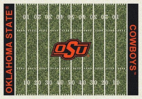 Oklahoma State Cowboys NCAA Area Rug - Home Field (7'8