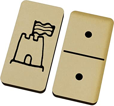 Castillo de Arena Domino Juego y Caja (DM00015740): Amazon.es: Juguetes y juegos