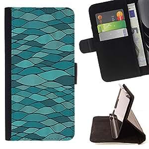 Momo Phone Case / Flip Funda de Cuero Case Cover - Moderno Estructura Arquitectura Arte carretera - LG Nexus 5 D820 D821