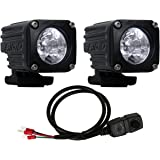 Rigid Industries 20731 LED Spot Motorcycle Kit (Ignite)