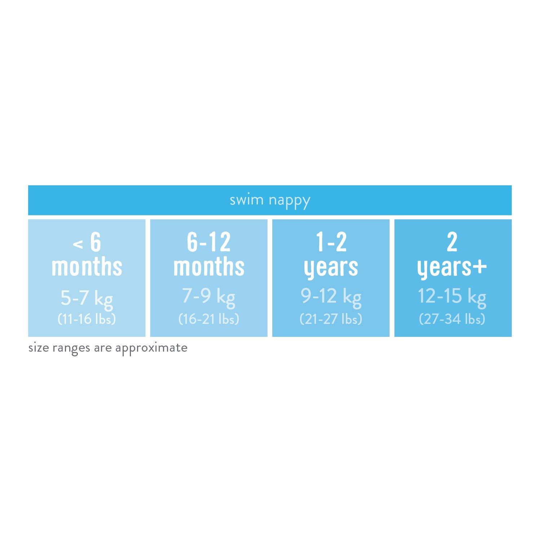 6-12 mois couche de bain lavable pont du p/élican m Bambino Mio