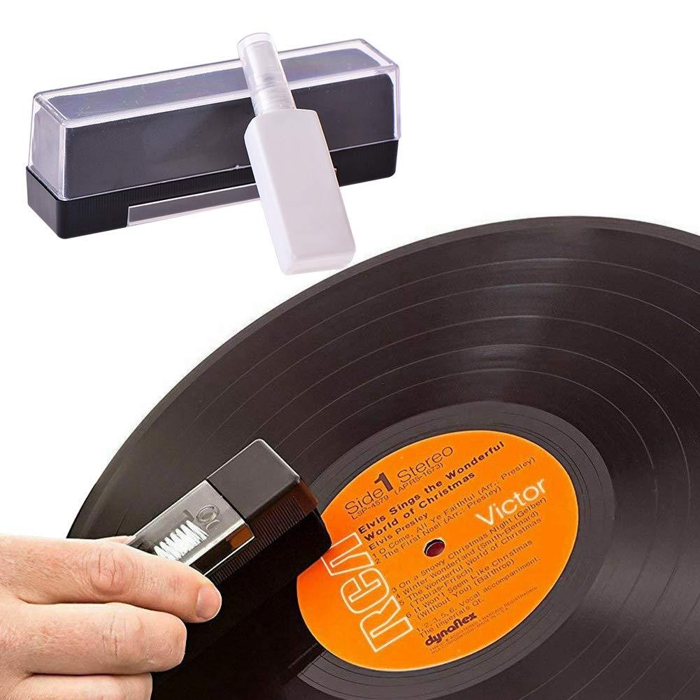 nakw88 Kit Cepillo para Discos Vinilo Polvo Huellas Digitales ...