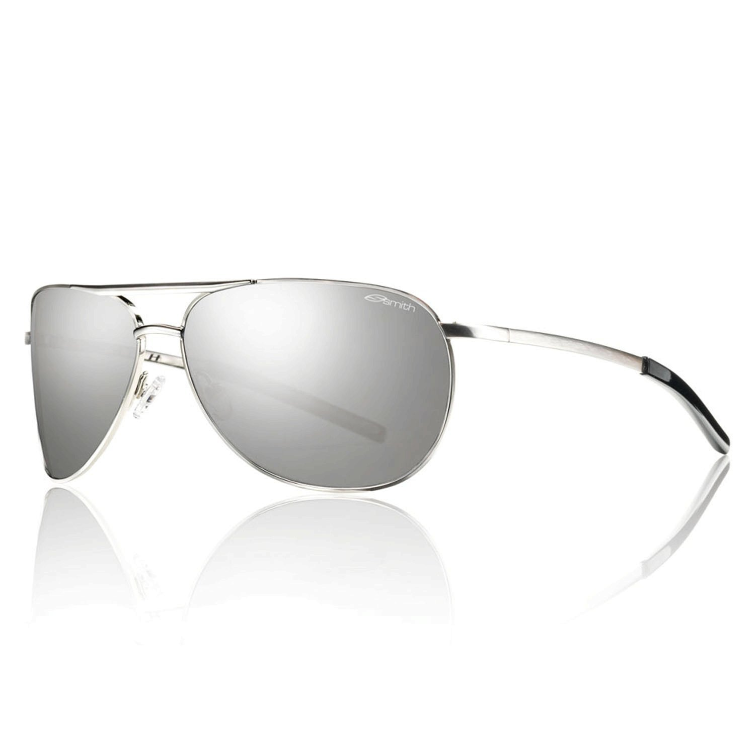 c26fb58d72a Buy Silver Platinum Mirror   Smith Optics Serpico Slim Sunglasses Online at  Low Prices in India - Amazon.in