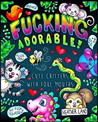 """New Low Price! Limited Time Only!This coloring book book is full of sweary insults said by the cutest critters possible!! From an adorable raccoon calling someone a """"Cumstain"""" to a """"Cunt-A-Saurus Rex"""", you'll love these filthy cuties! If you love to..."""