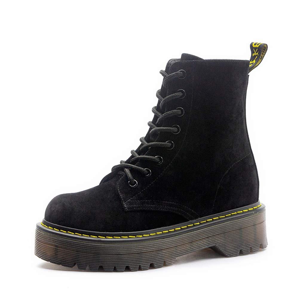 Martin Stiefel Für Damenmode Runde Kappe Lässig Warme Schuhe Wandern Wandern Damen Schnüren Stiefelie Anti Slip
