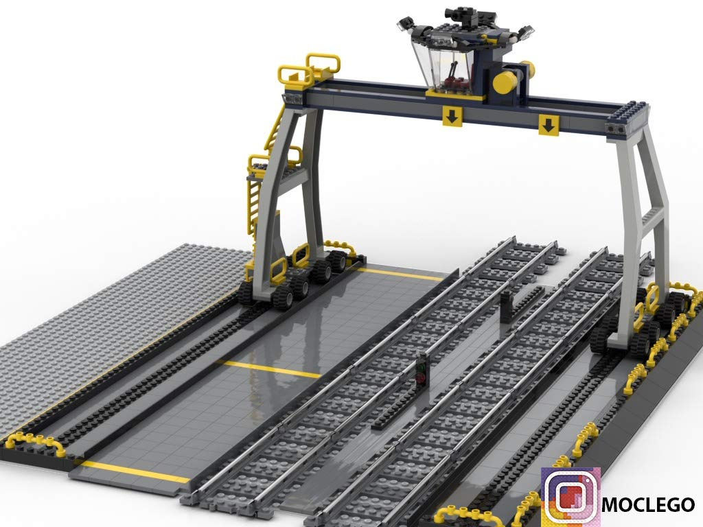 Train Docking Station (Instruction Only): MOC LEGO