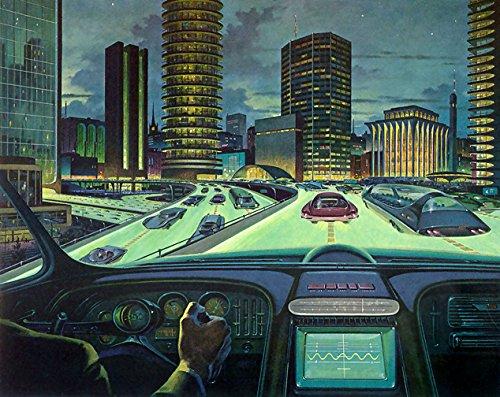 Retro Futurism Photo Print