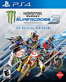 Monster Energy Supercross - The Official Videogame 3 - PlayStation 4