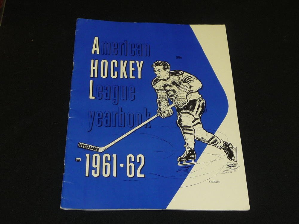 1961 62 Ahl American Hockey League League Yearbook Guide Lots Of