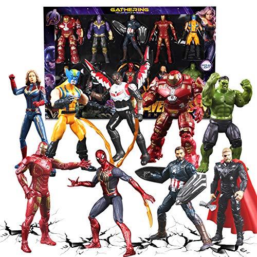Gylewj 9 Avengers Alliance Juguete Móvil Muñecas De 15 Cm ...