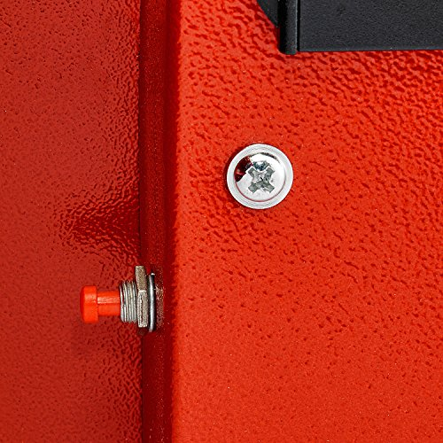 AdirOffice Security Safe with Digital Lock - Red - 2.32 Cubic Feet by Adir Corp. (Image #8)