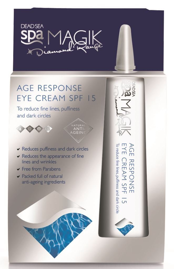 Dead Sea Spa Magik - Age Response Eye Cream - 15ml (Case of 6)