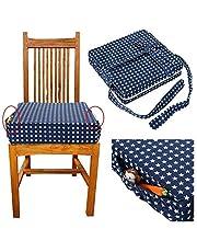 BATTILO HOME Kids Dining Chair Booster Cushion Portable Baby Children Seats Baby Cushion High Chair Seat Pad
