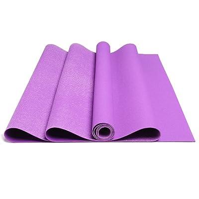 183 * 61cm * Tapis de yoga en caoutchouc naturel 1.5mm Portable pliable mince