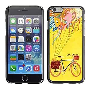 Dragon Case - FOR iPhone 6 - Genius is formed in quiet - Caja protectora de pl??stico duro de la cubierta Dise?¡Ào Slim Fit