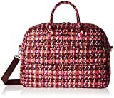 Vera Bradley Women's Grand Traveler, Houndstooth Tweed