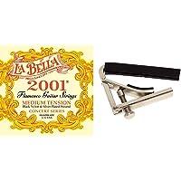 La Bella B2001Fm Juego Cuerda Flamenco + Fire&Stone 529588 Cejilla Para Guitarra