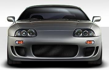 Amazon Com Extreme Dimensions Duraflex Replacement For 1993 1998 Toyota Supra Wbz Front Bumper 1 Piece Automotive