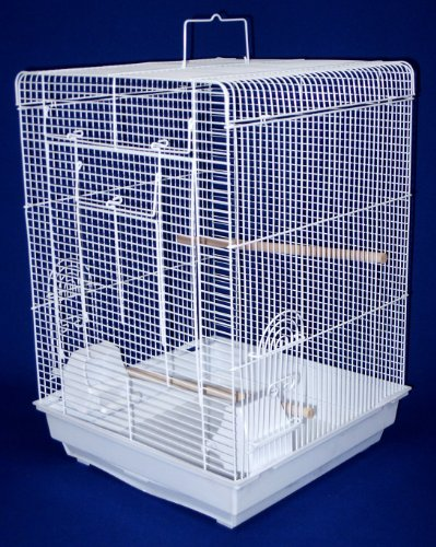 YML 3/8 Flat Top Cage, White, 16 by 16-Inch