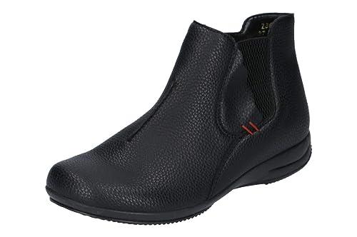 wholesale dealer 3d1d4 8dcc0 Rieker Damen Komfort Chelsea Boots Gefüttert Schwarz Gr. 37 ...
