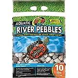 Zoo Med Laboratories Aquatic River Pebbles for Aquatic Turtle Habitats, 10-Pound