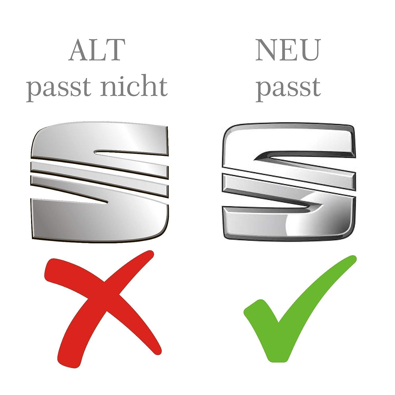 Finest Folia SE08 Emblema Anteriore e Posteriore con Logo sul Volante