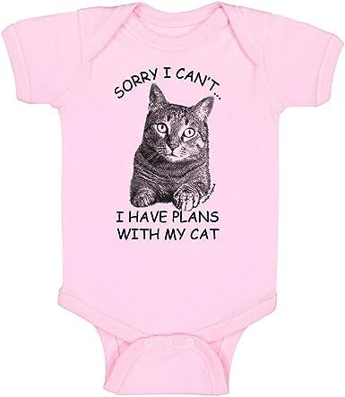 Amazon.com: Gato, Gatito Onesie Body Camisa Bebé Niños y ...