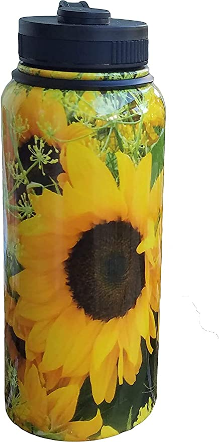 Sunflowers Water Bottle Cover