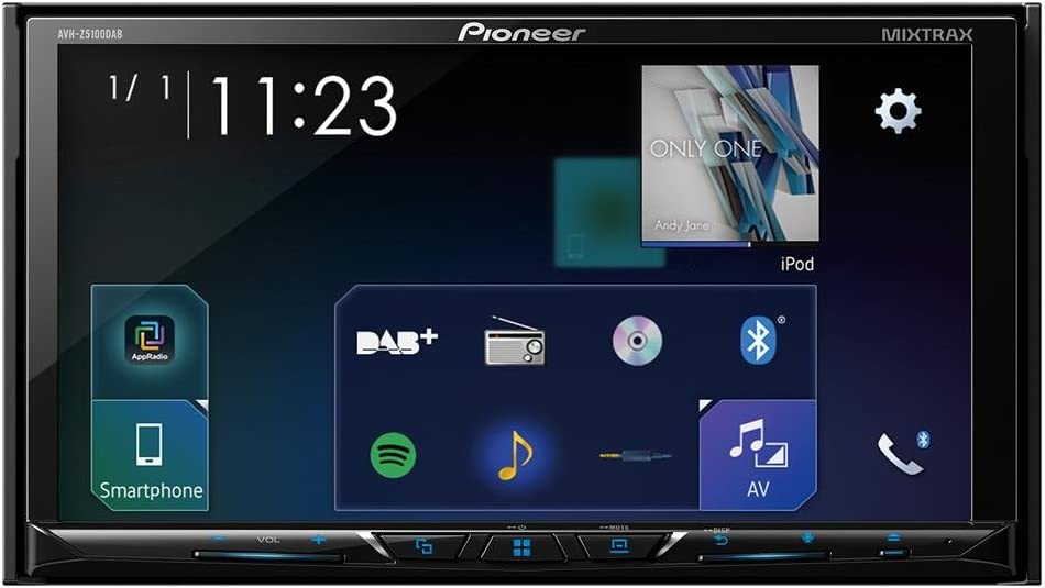 Pioneer AVH-Z5100DAB 7 Multimedia Player with USB Android Auto Bluetooth and DAB Apple CarPlay