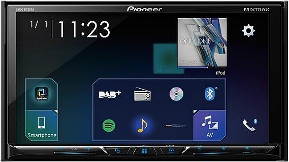 Pioneer AVH-Z5100DAB Pantalla Multimedia, Negro, 7 Pulgadas: Amazon.es: Coche y moto