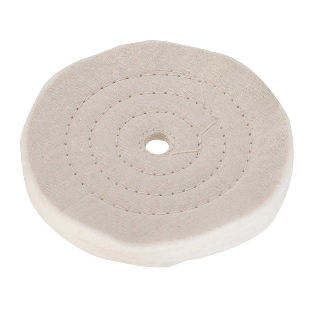 Silverline 633782 Double-Stitched Buffing Wheel, 150 mm SLTL4