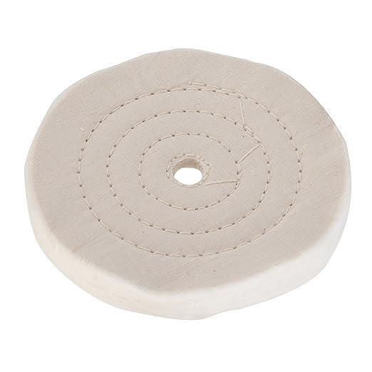 2 opinioni per Silverline 633782 Disco di lucidatura a cucitura doppia 150 mm